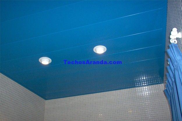 Oferta económica techos de aluminio acústicos decorativos para baños