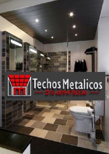 Oferta económica techos de aluminio desmontables decorativos para baños