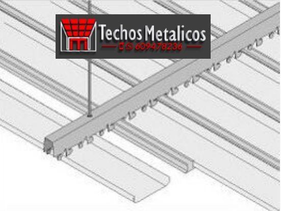 Oferta económica venta techos de aluminio desmontables decorativos