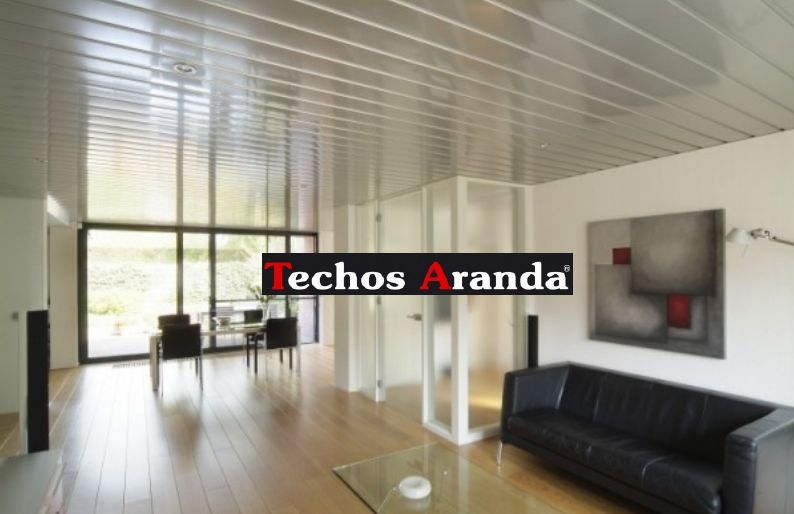 Oferta montaje techos aluminio desmontables decorativos