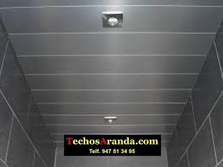 Oferta techos de aluminio acústicos decorativos para baños