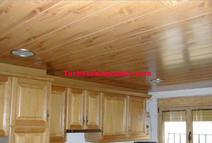 Oferta techos de aluminio acústicos para baños
