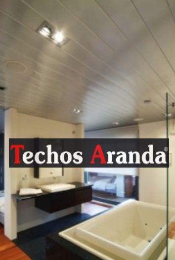 Oferta techos de aluminio registrables decorativos para baños