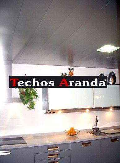 Oferta techos de aluminio registrables decorativos para cocinas