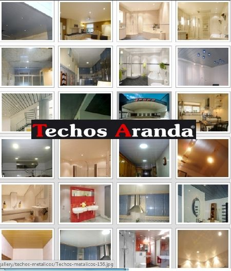 Ofertas economicas falsos techos aluminio acústicos decorativos