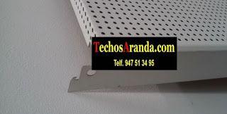 Ofertas económicas montaje techos aluminio acústicos decorativos