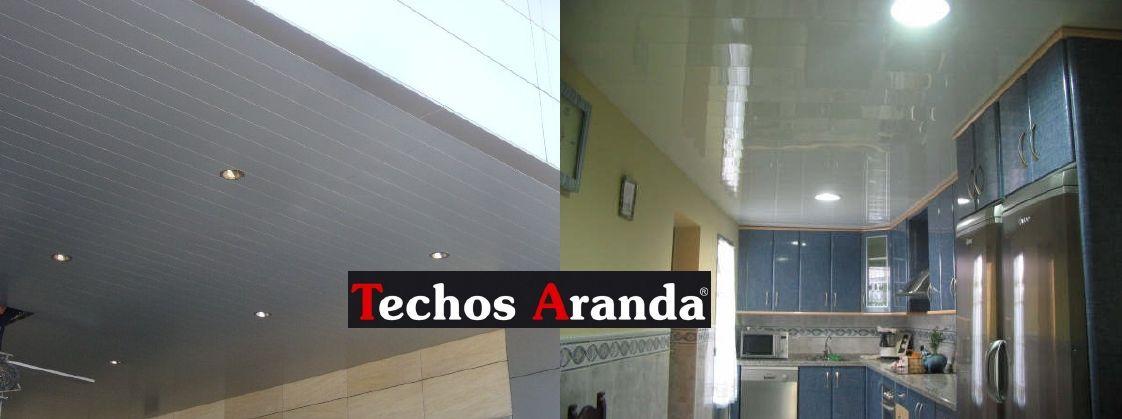 Ofertas económicas montaje techos aluminio desmontables decorativos