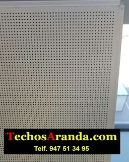Ofertas economicas techos de aluminio acústicos decorativos