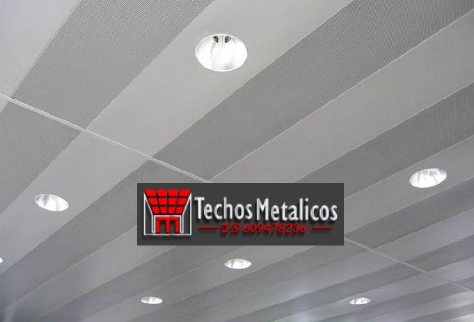 Ofertas económicas techos de aluminio desmontables decorativos para baños