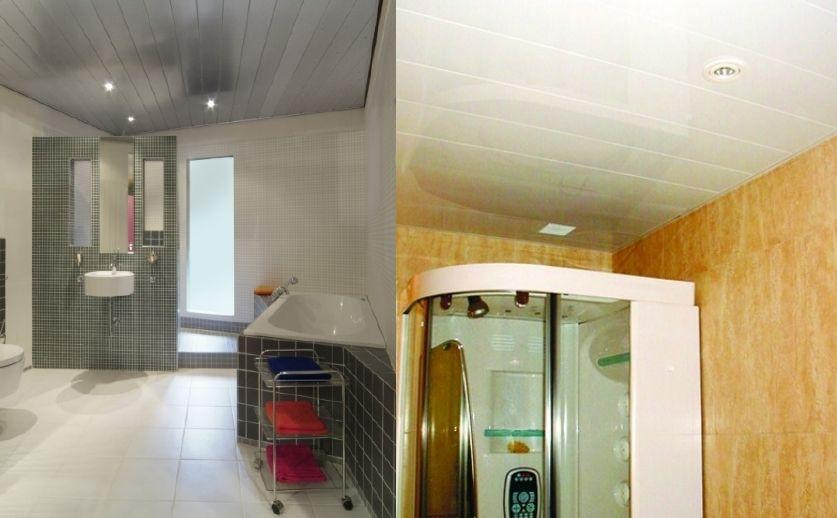 Ofertas económicas techos de aluminio registrables decorativos para baños