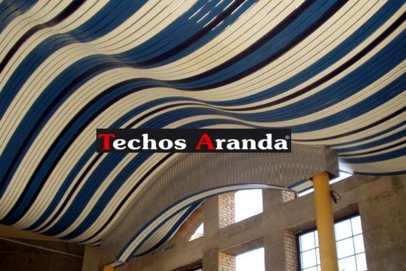 Ofertas falsos techos aluminio registrables decorativos