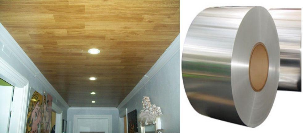 Ofertas montadores techos de aluminio registrables decorativos
