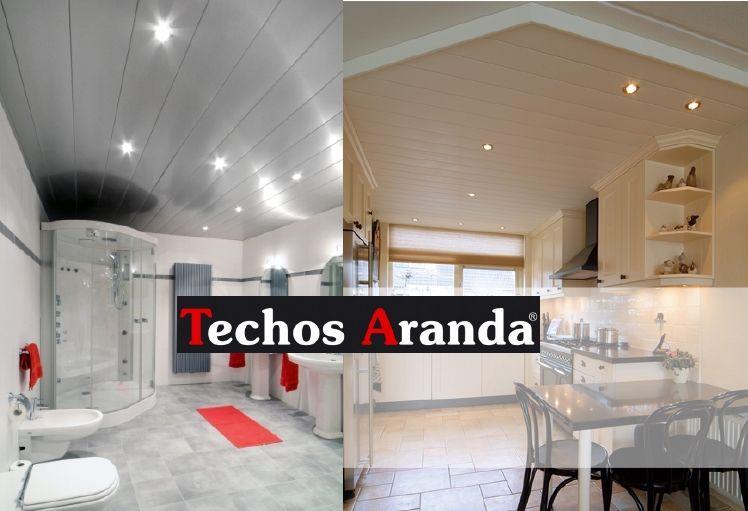 Ofertas montaje techos aluminio desmontables decorativos