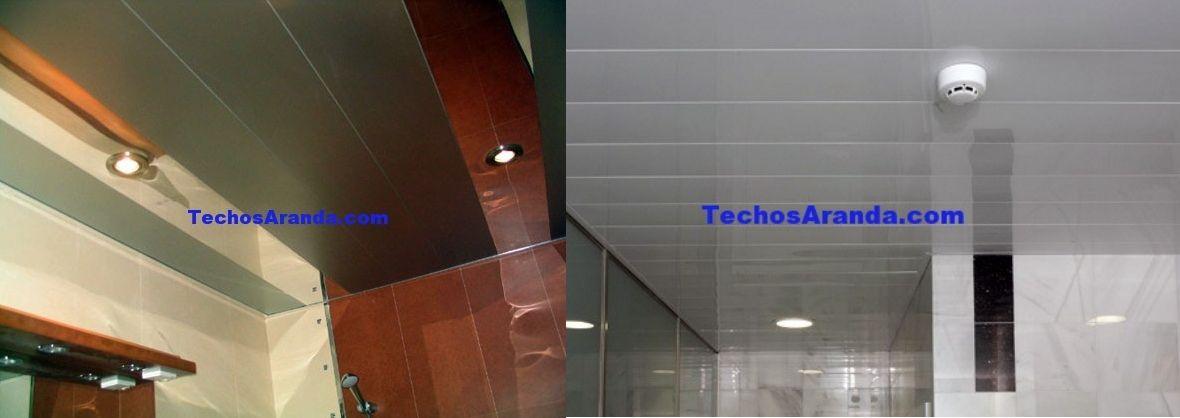 Ofertas techos de aluminio acústicos para baños