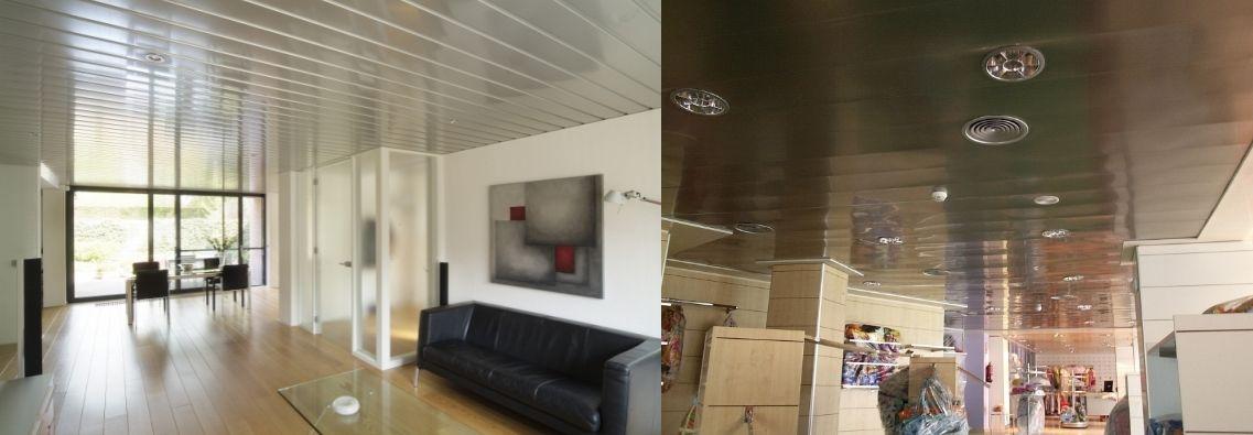Ofertas venta techos de aluminio registrables decorativos