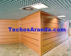 Pagina web de empresa techos aluminio acústicos decorativos
