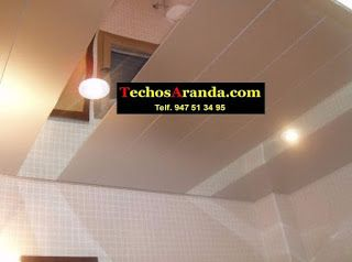 Pagina web de falsos techos aluminio registrables decorativos
