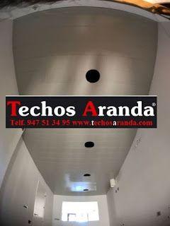 Pagina web de instaladores de techos de aluminio acústicos