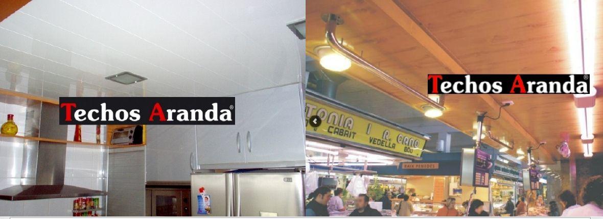 Pagina web de instaladores de techos de aluminio registrables decorativos