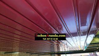 Pagina web de montaje techos aluminio acústicos decorativos