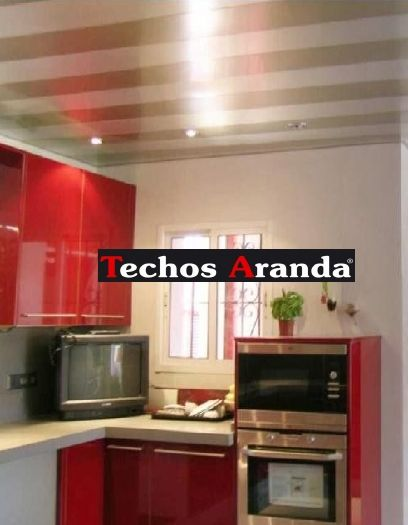 Pagina web de ofertas techos aluminio registrables decorativos