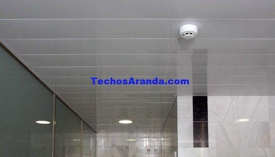 Pagina web de techos de aluminio desmontables decorativos para baños