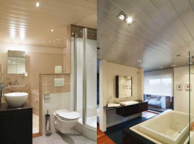 Pagina web de techos de aluminio registrables decorativos para baños