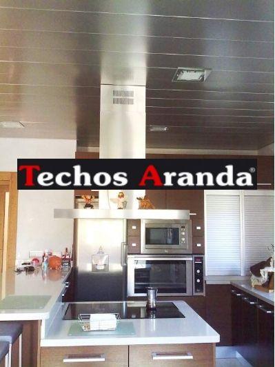 Pagina web de techos de aluminio registrables decorativos para cocinas