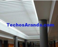 Precio anticrisis empresa techos aluminio acústicos