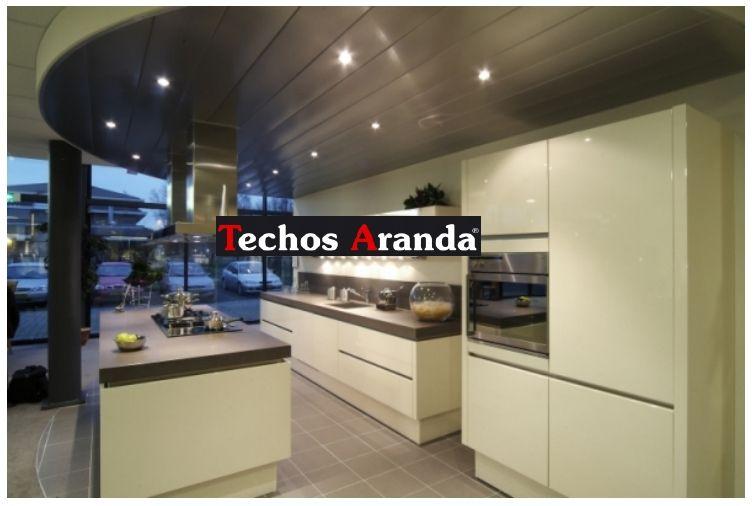 Precio anticrisis techos de aluminio acústicos decorativos para cocinas