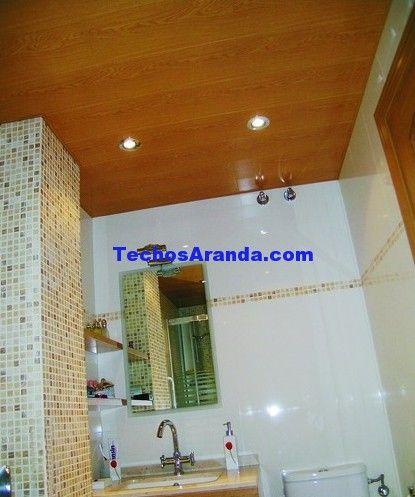 Precio anticrisis techos de aluminio acústicos para baños