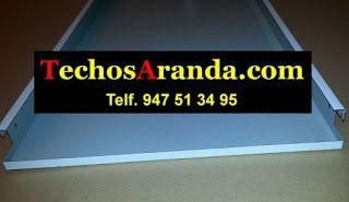 Precio anticrisis venta techos de aluminio acústicos