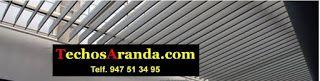 Precio de empresa techos aluminio acústicos decorativos