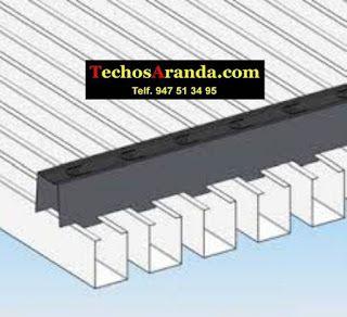 Precio de empresa techos aluminio acústicos