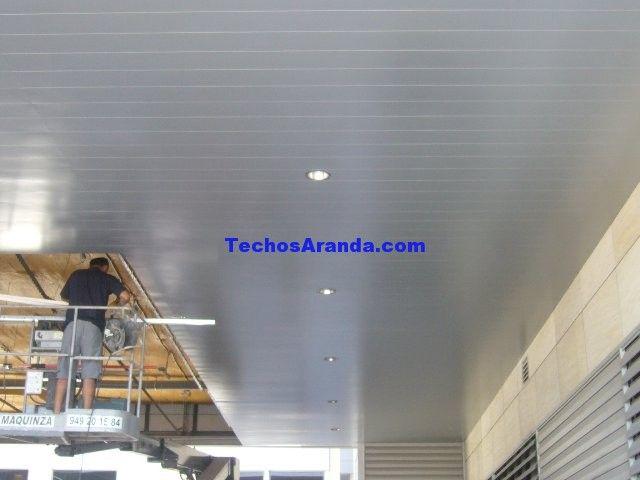 Precio de montaje techos aluminio acústicos decorativos