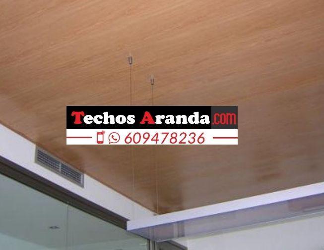 Precio de montaje techos aluminio registrables decorativos