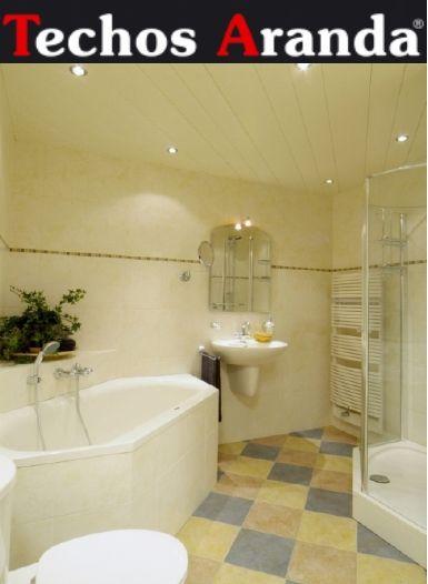 Precio económico de techos de aluminio registrables decorativos para baños