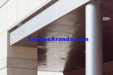 Precio económico de venta techos de aluminio acústicos decorativos