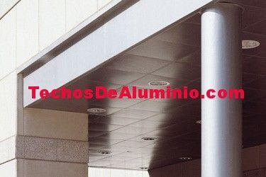 Precio económico de venta techos de aluminio acústicos