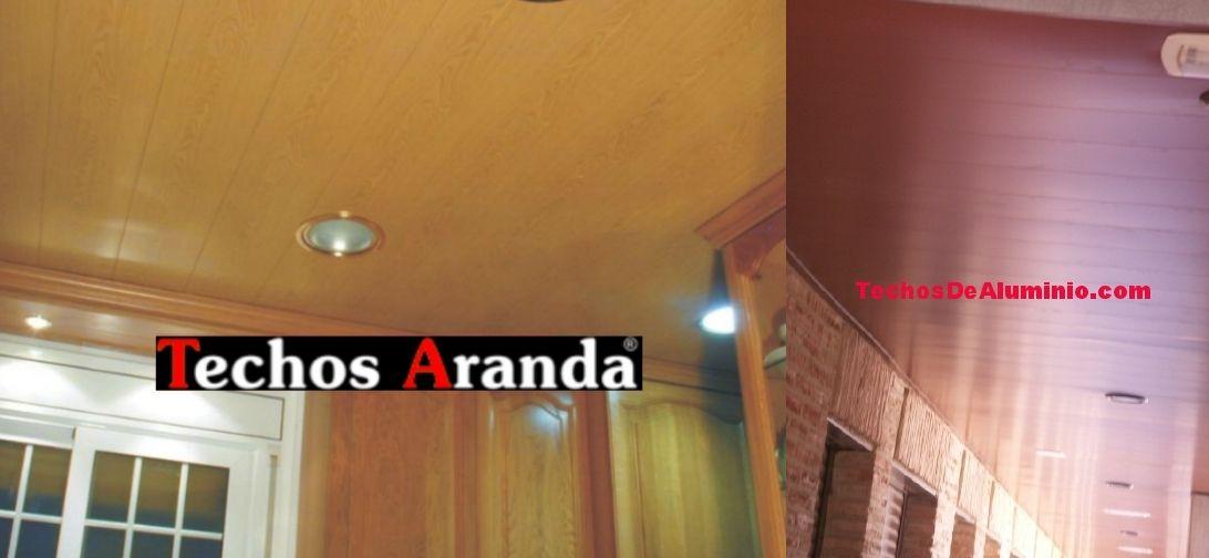 Precio económico falsos techos aluminio acústicos decorativos