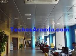 Precio económico instaladores de techos de aluminio acústicos