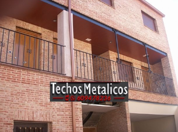 Precio económico montadores techos de aluminio lacados