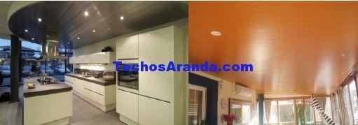 Precio económico montaje techos aluminio registrables decorativos