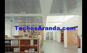 Precio económico ofertas techos aluminio acústicos