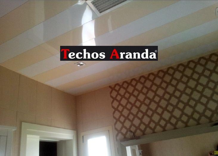 Precio montaje techos aluminio desmontables decorativos