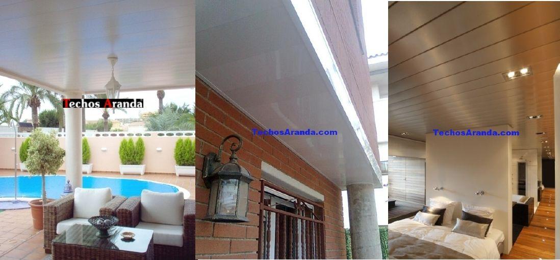 Precio ofertas techos aluminio acústicos decorativos