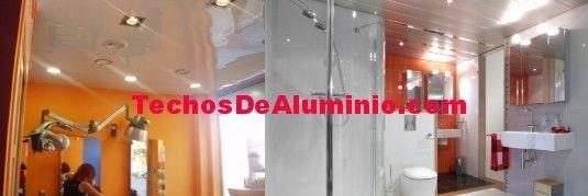 Precio techos de aluminio acústicos para baños