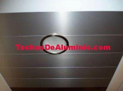 Precio techos de aluminio desmontables decorativos para baños