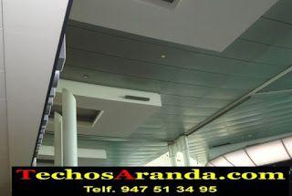 Precios económicos montaje techos aluminio acústicos decorativos