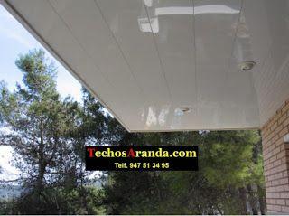 Precios económicos montajes techos aluminio acústicos decorativos